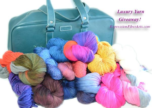 yarn and organizer