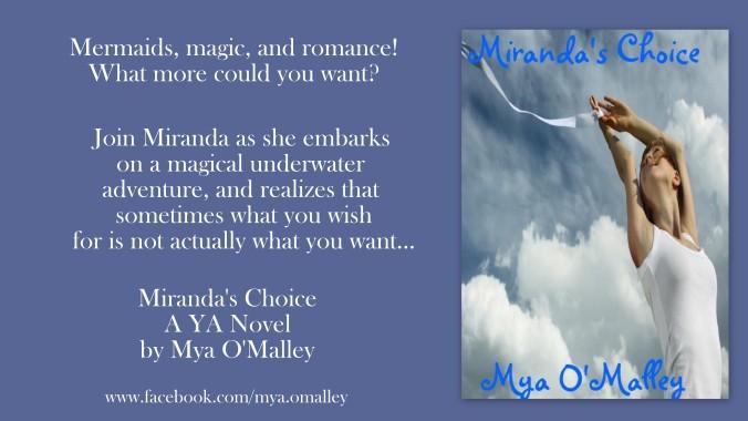 Miranda's Choice Blue Background