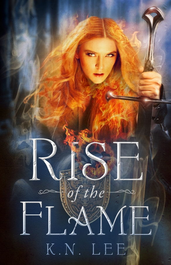 Rise of the Flame new cover
