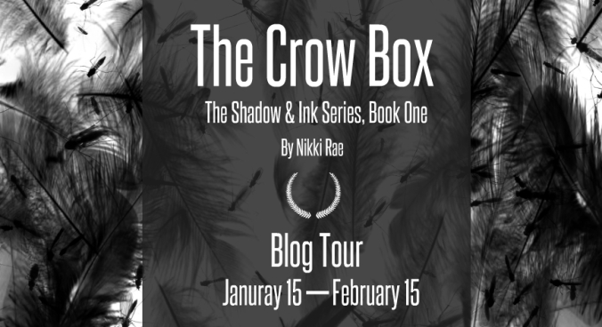 blog tour banner the crow box