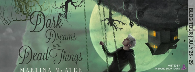Dark Dreams and Dead Things tour banner